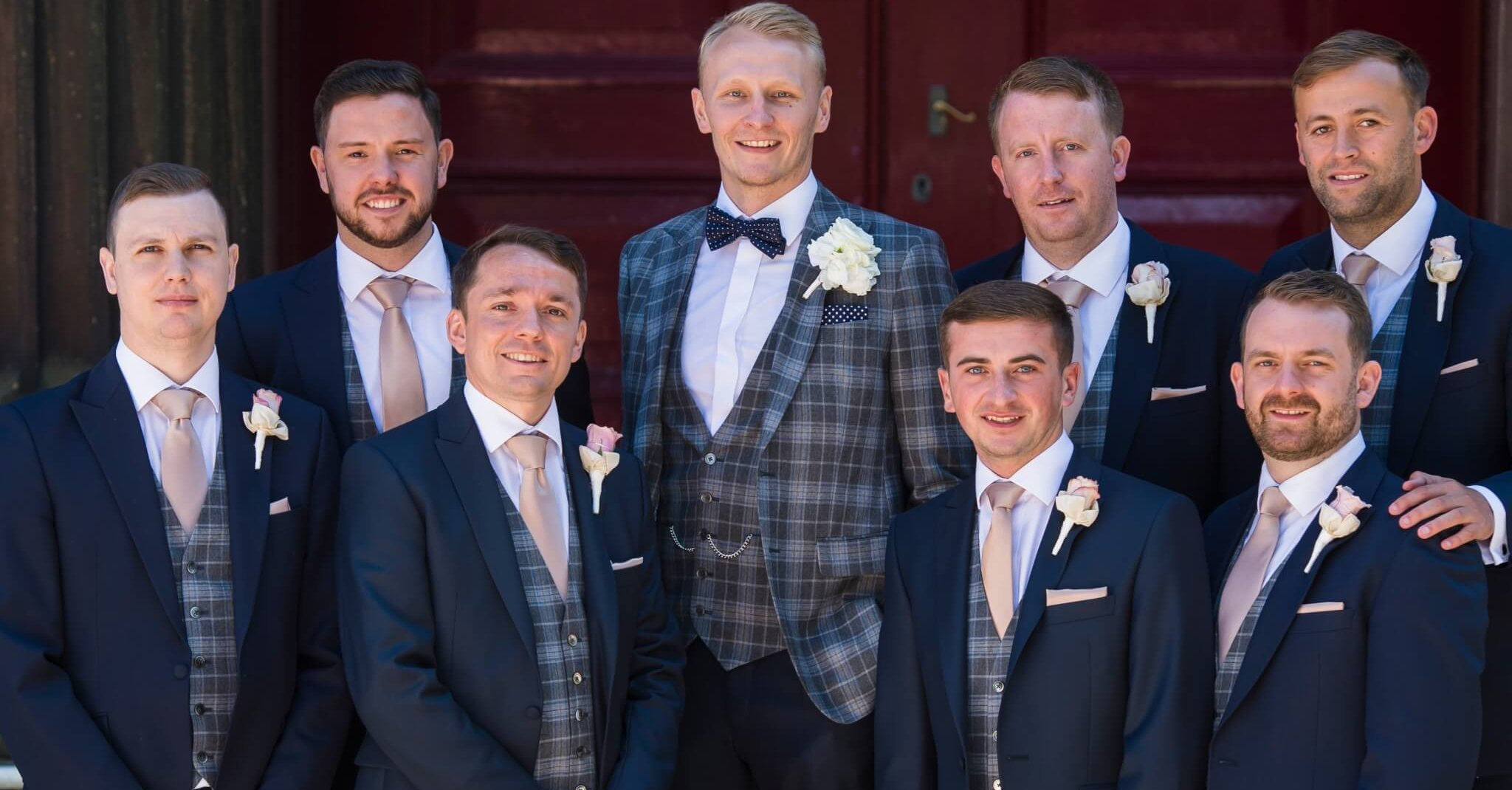 5578e160eeb8 How Grooms Can Stand Out In Wedding Suits | Whitfield & Ward